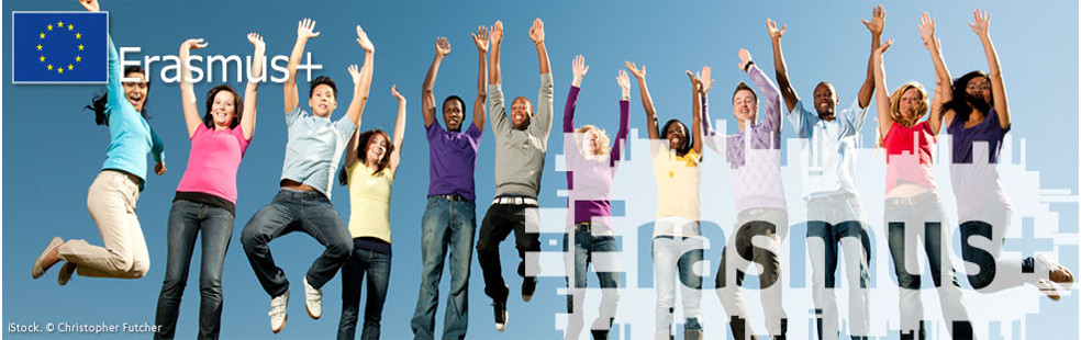 Cabecera página del programa Erasmus+