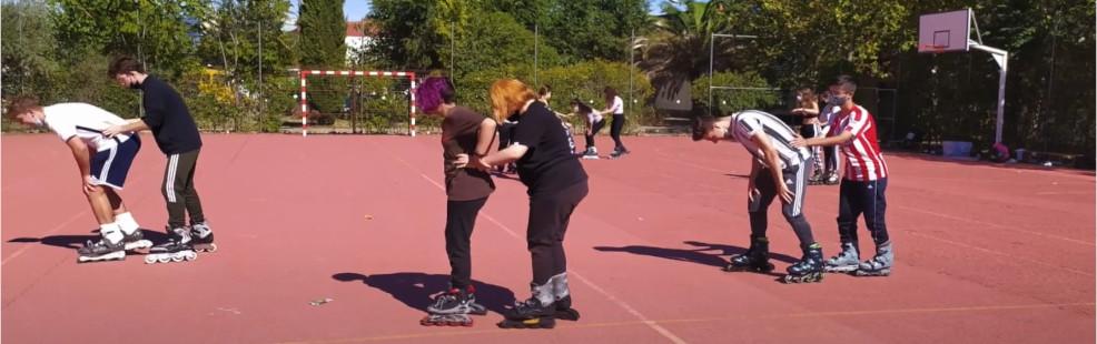 Iniciación al equilibrio y patinaje