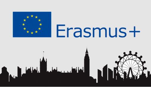 Imagen Link Erasmus+ en Página de Inicio