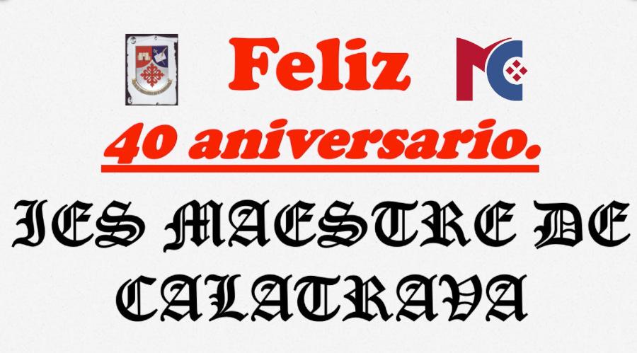 40 Aniversario del Instituto