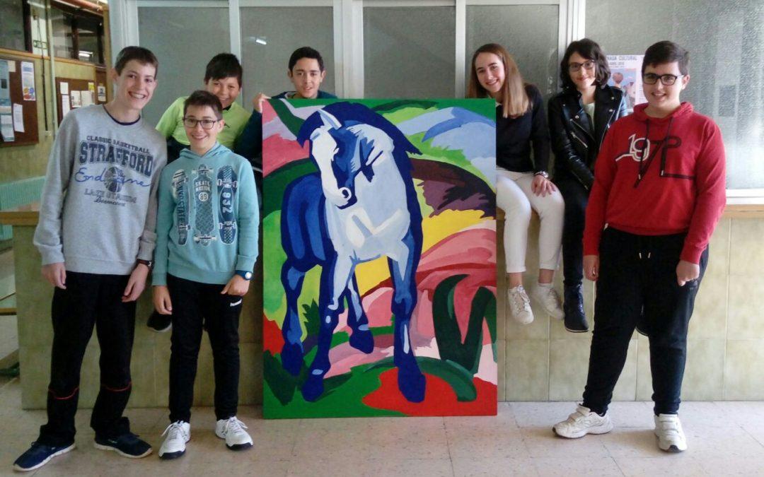 Caballo azul de Franz Marc