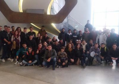 Alumnos en la Fundación Telefónica