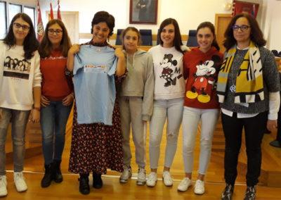 Entrevista a la alcaldesa de Ciudad Real. Proyecto erasmus+ journalists-of-today