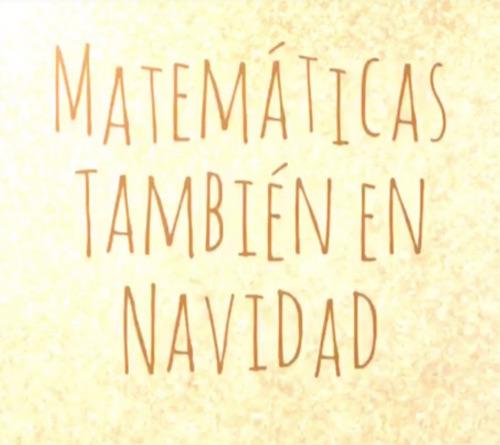 Matemáticas también en Navidad
