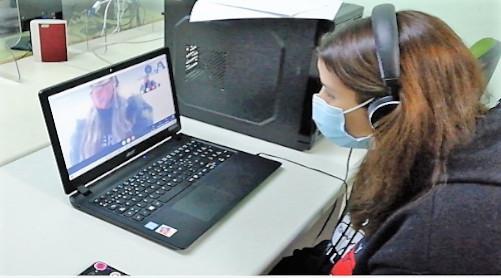 Videoconferencia con EE.UU.
